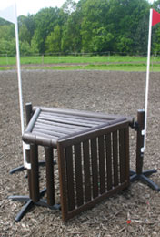 Adjustable Cross Country Fence